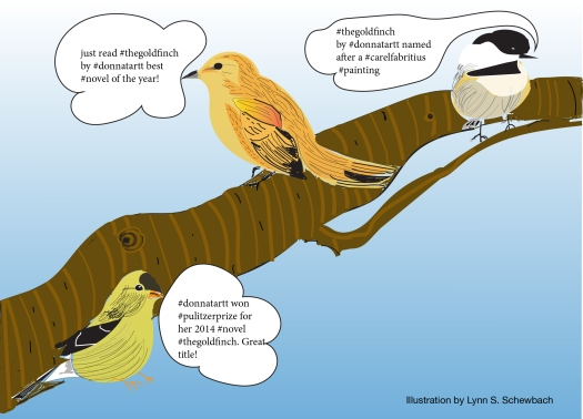 Illustration of birds for Twitter article