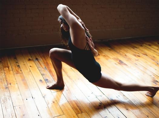 Photo of dancer Katie Haynes in Dance Pose
