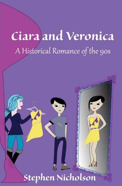 Photo of Ciara and Veronica Bookcover by Lynn S. Schwebach