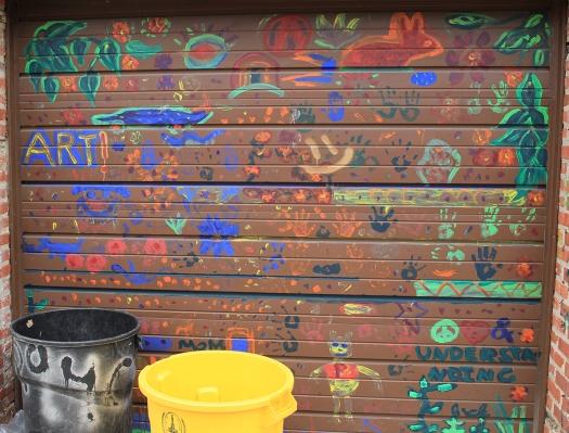 How to Increase Your Creativity Photo of Painted Garage Door